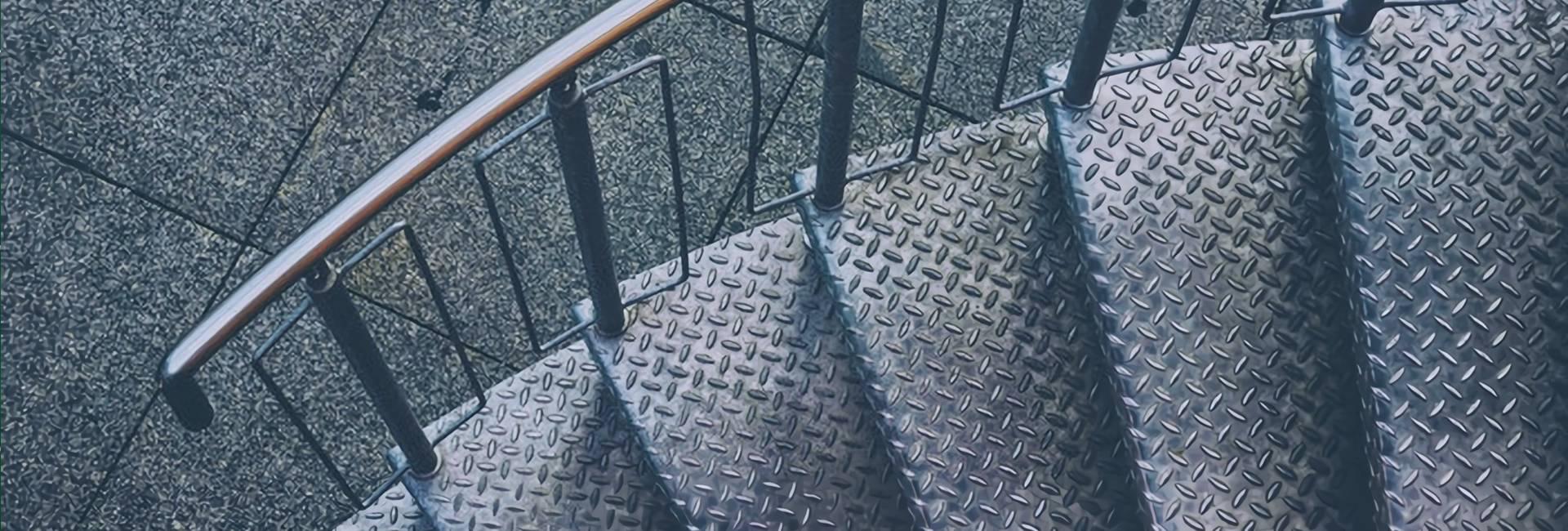 Chequered Plate Aluminum Non Slip Stair Treads